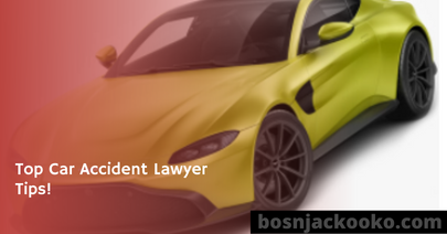Top Car Accident Lawyer Tips!