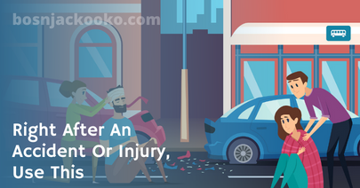 Right After An Accident Or Injury, Use This