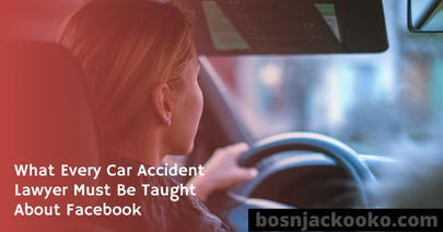 What Every Car Accident Lawyer Must Be Taught About Facebook