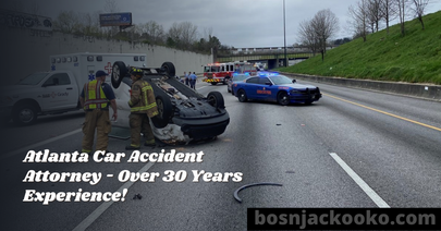 Atlanta Car Accident Attorney - Over 30 Years Experience!