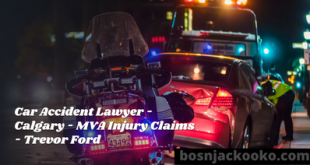 Car Accident Lawyer - Calgary - MVA Injury Claims - Trevor Ford