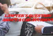 Lawyer's question about a car accident